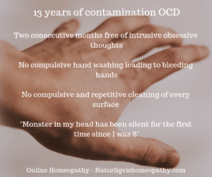 13 years of contamination OCD