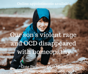 Rage and OCD in children