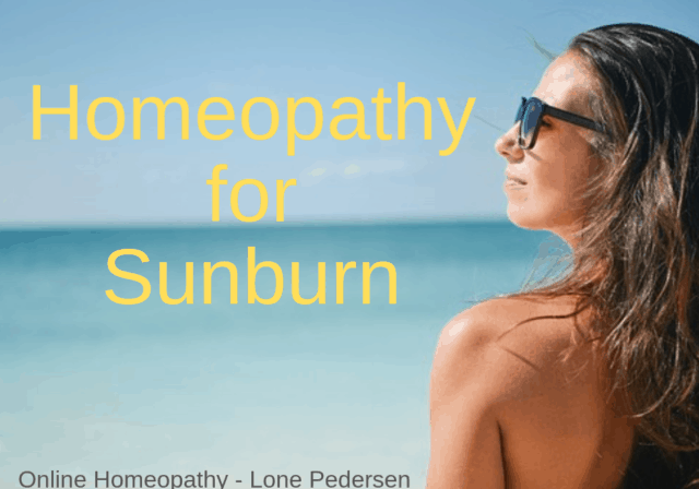Homeopathy for Sunburn